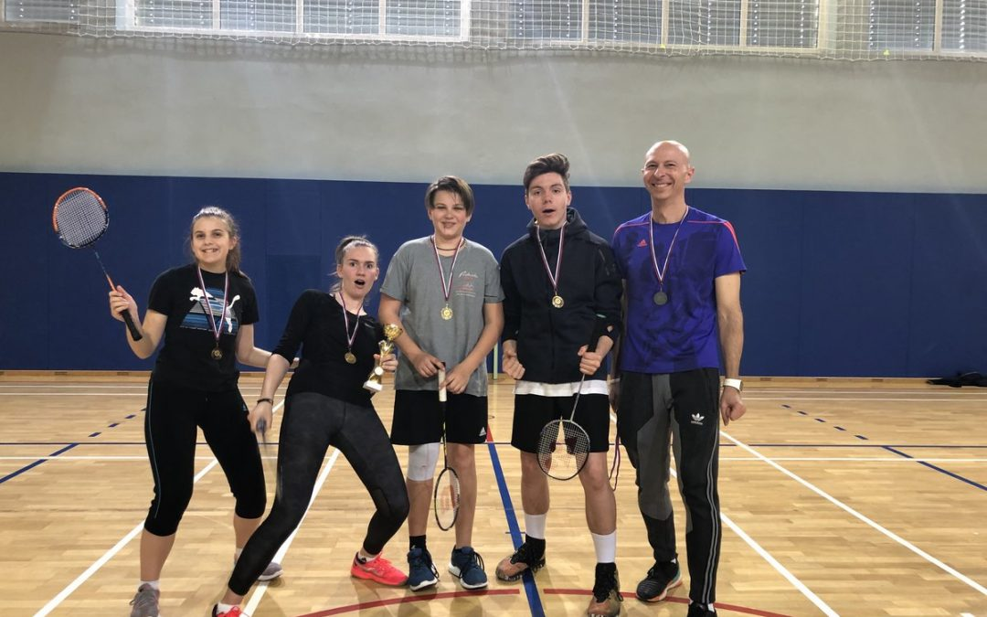 Področni prvaki v badmintonu – ekipno