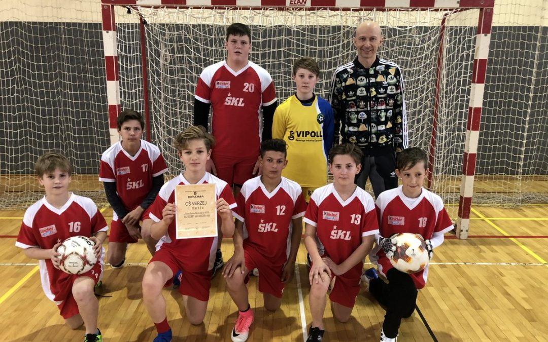 Medobčinski prvaki v malem nogometu