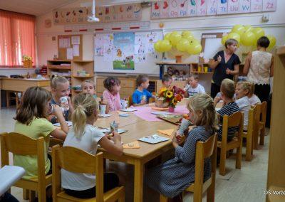 Prvi šolski dan - OŠ Veržej 01