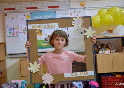Prvi šolski dan - OŠ Veržej 05