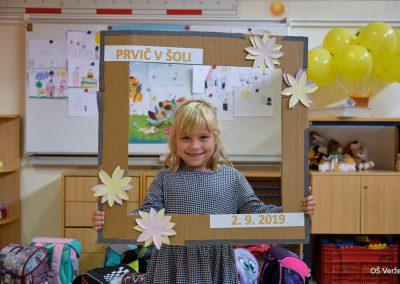 Prvi šolski dan - OŠ Veržej 08