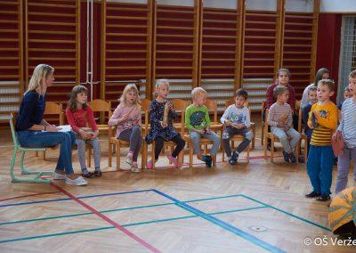 Sprejem prvošolcev v šolsko skupnost - OŠ Veržej 03