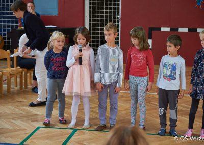 Sprejem prvošolcev v šolsko skupnost - OŠ Veržej 10