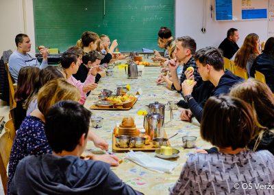 Tradicionalni slovenski zajtrk - OŠ Veržej 034