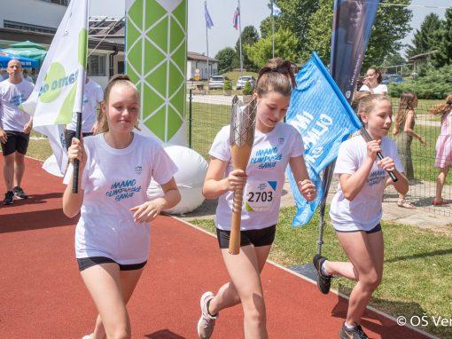Slovenska olimpijska bakla v Veržeju